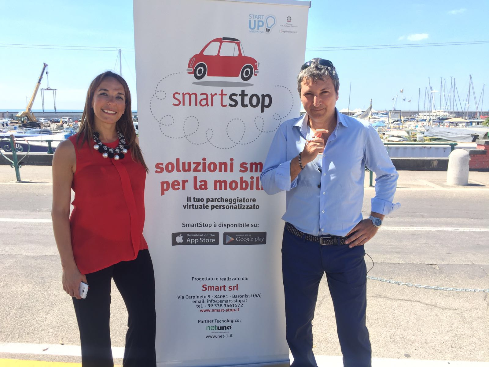 SmartStop: a Salerno si comincia da Piazza della Concordia per i posti riservati ai disabili